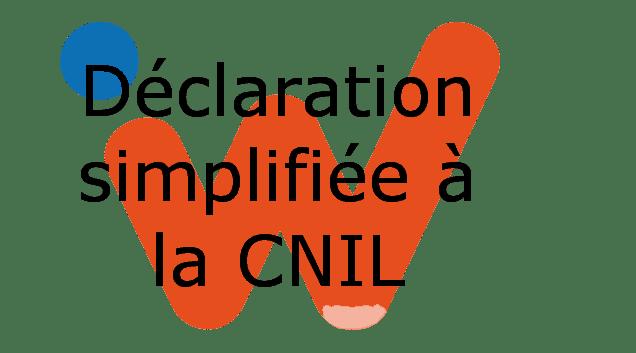 Déclaration simplifiée à la C.N.I.L.