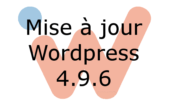 Mise à jour WordPress 4.9.6