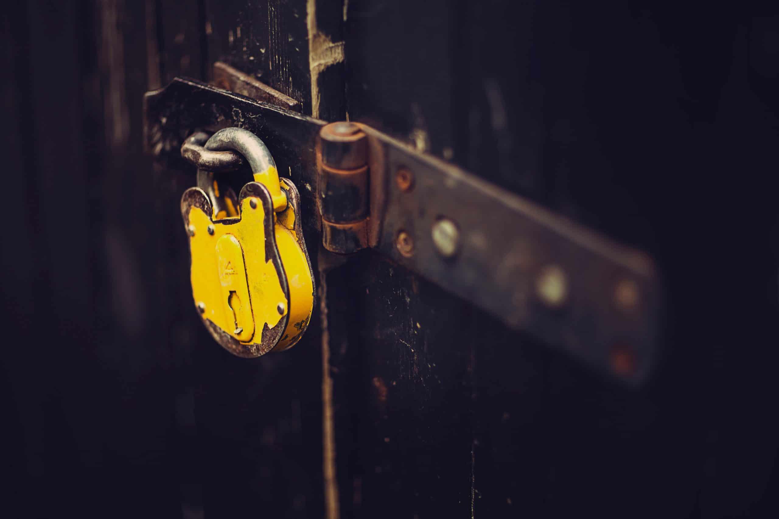securite protection cadenas
