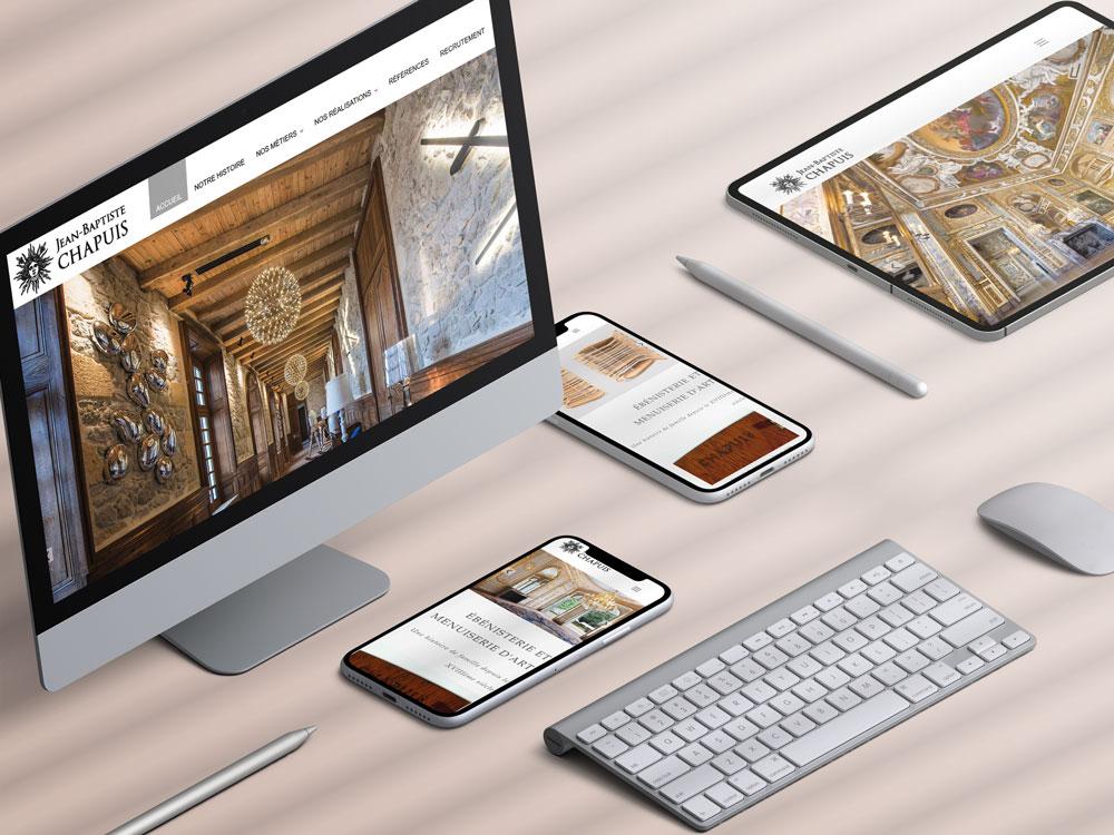 site internet wordpress ateliers chapuis muzillac